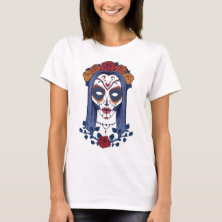 Sugar Skull Lady T-Shirt