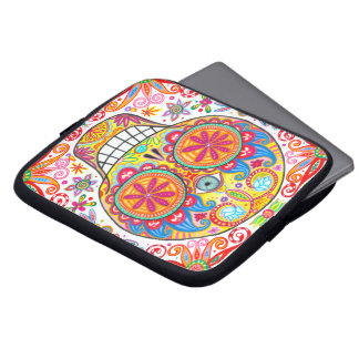 Sugar Skull Laptop Sleeve Day of the Dead