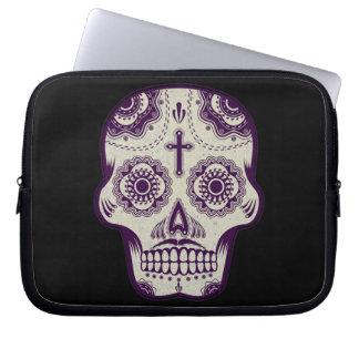 Sugar skull laptop sleeves