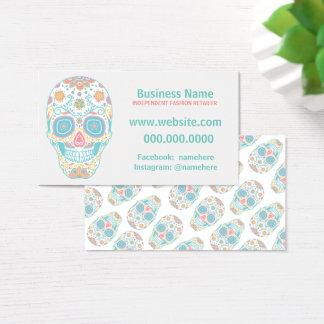 Sugar Skull Lula Fashion Retailer Business Card