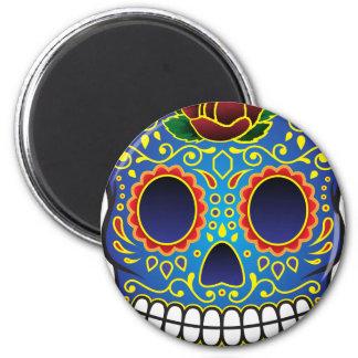 Sugar Skull Fridge Magnet