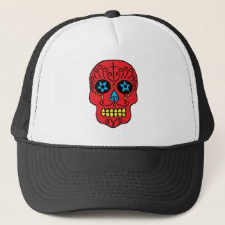 Sugar Skull Man Trucker Hat