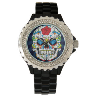 Sugar Skull Mens Watch