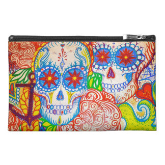 sugar skull mexican anchor tattoo style bag gift