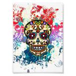 Sugar Skull, Mexico, Dias de los Muertos Art Photo