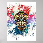 Sugar Skull, Mexico, Dias de los Muertos Poster