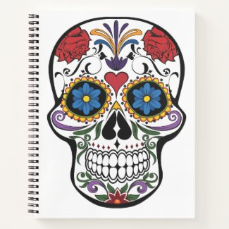 Sugar Skull Notebook