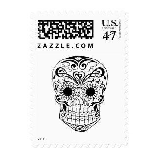 Sugar Skull Original Design Postage