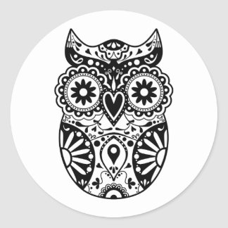 Sugar Skull Owl Gifts on Zazzle