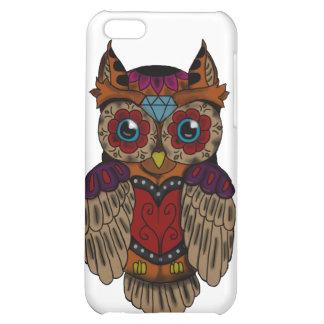 Sugar Skull owl Case For iPhone 5C