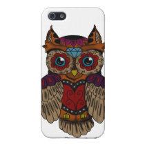 Sugar Skull owl iPhone SE/5/5s Cover