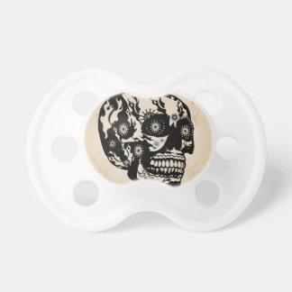 Sugar skull pacifiers