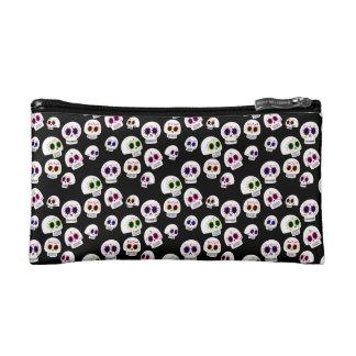 Sugar Skull Pattern Cosmetics Bag