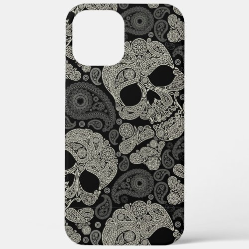 Sugar Skull Pattern iPhone 12 Pro Max Case Phone Case
