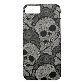 Sugar Skull Pattern iPhone 7 Case