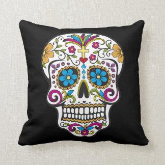 Superb Sugar Skull Pillow