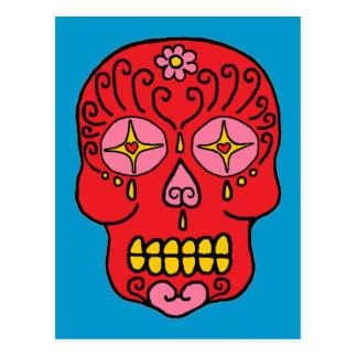 Sugar Skull Post Cards