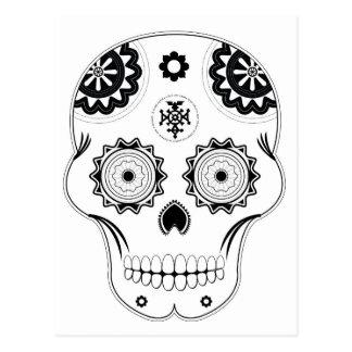 Sugar Skull Post Card