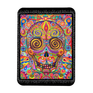 Sugar Skull Premium Magnet Day of the Dead