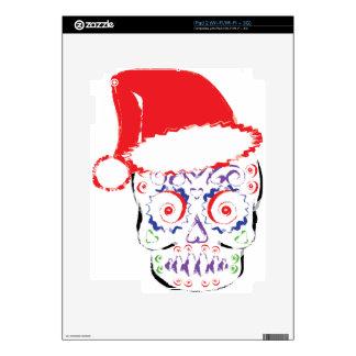 Sugar Skull Santa iPad 2 Decals