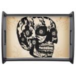 Sugar skull serving platter