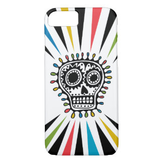Sugar Skull sharpie iPhone 7 case