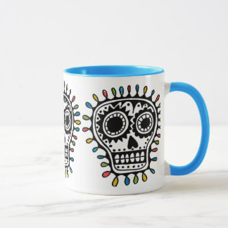 Sugar Skull - sharpie  mug
