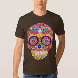Sugar Skull Shirt - Day of the Dead Art T-Shirt
