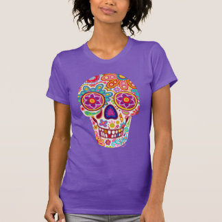 Sugar Skull Shirt - Day of the Dead T-Shirt