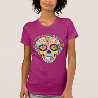 Sugar Skull Shirt - Womens Day of the Dead Shirt