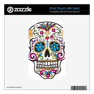 Sugar Skull iPod Touch 4G Skins