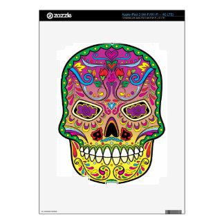 Sugar Skull Skin For iPad 3