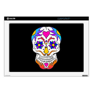 "Sugar Skull 17"" Laptop Skin"