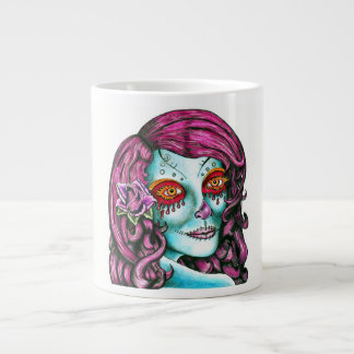 Sugar Skull Extra Large Mug