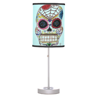Sugar Skull Table Lamp