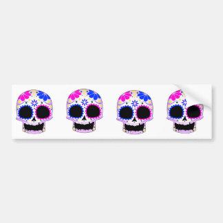 Sugar Skull - Tattoo Design Bumper Sticker