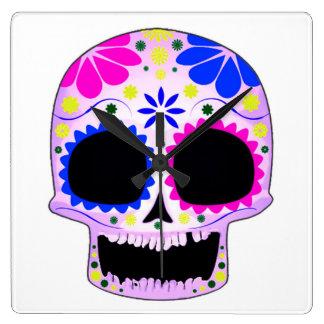 Sugar Skull - Tattoo Design Wallclock