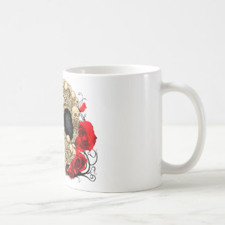 Sugar Skull - Tattoo Design Coffee Mug