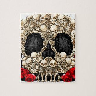Sugar Skull - Tattoo Design Jigsaw Puzzles