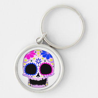 Sugar Skull - Tattoo Design Keychain