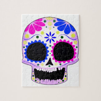 Sugar Skull - Tattoo Design Puzzles