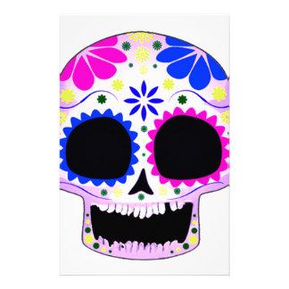 Sugar Skull - Tattoo Design Customized Stationery