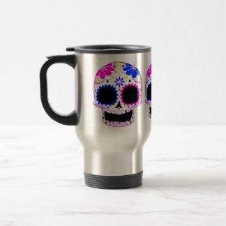 Sugar Skull - Tattoo Design Travel Mug