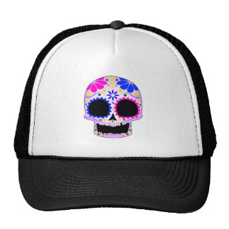 Sugar Skull - Tattoo Design Trucker Hat