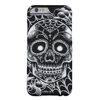 Sugar Skull Tattoo Flash Barely There iPhone 6 Case