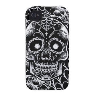 Sugar Skull Tattoo Flash iPhone 4/4S Covers