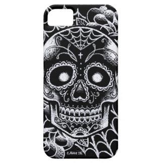 Sugar Skull Tattoo Flash iPhone 5 Cases