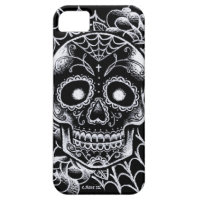 Sugar Skull Tattoo Flash iPhone SE/5/5s Case