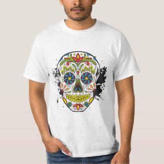 Sugar Skull, Tattoo Skull, Mexican Skull T-Shirt