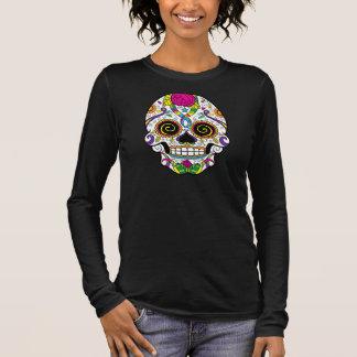 Sugar Skull Tattoo Style Women's Plus Size T-Shirt